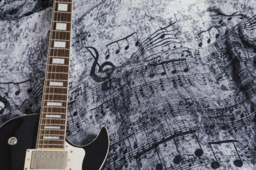Lenny Lamb Mulltuch Symphony black & white